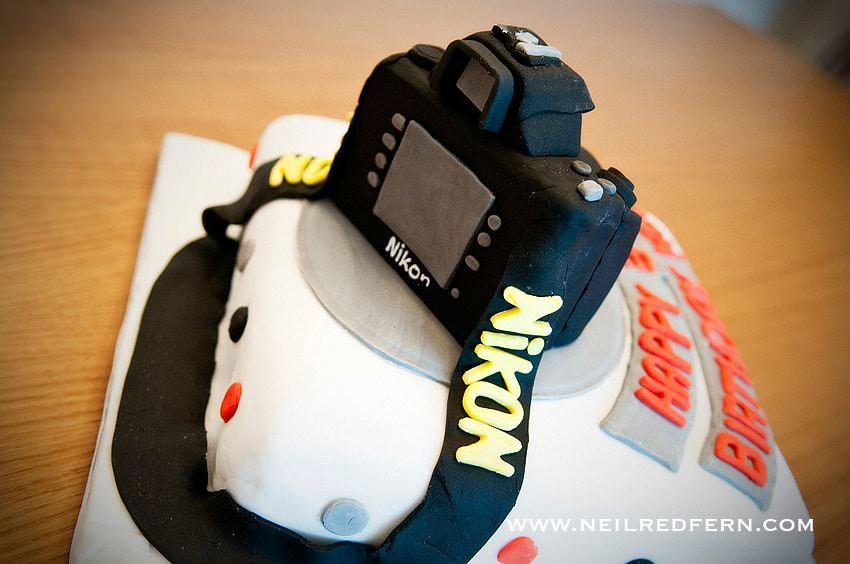 Birthday Cake Images Camera : Nikon camera Birthday cake