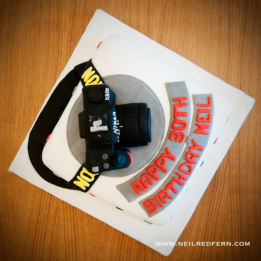 Awe Inspiring Nikon Camera Birthday Cake Personalised Birthday Cards Sponlily Jamesorg