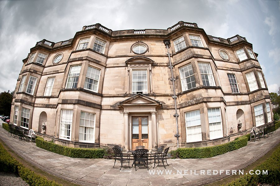 Hassop Hall wedding photographs 01