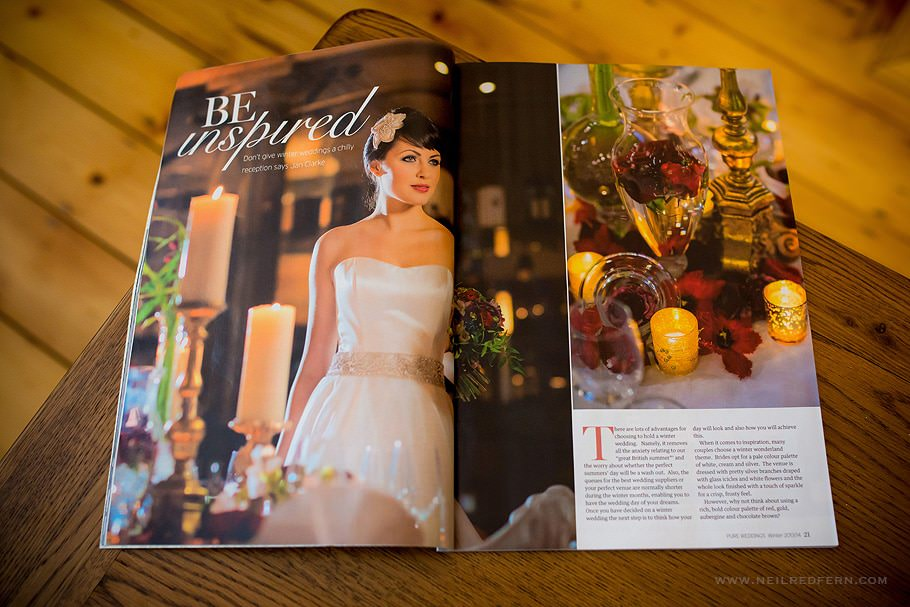 Pure weddings magazine feature