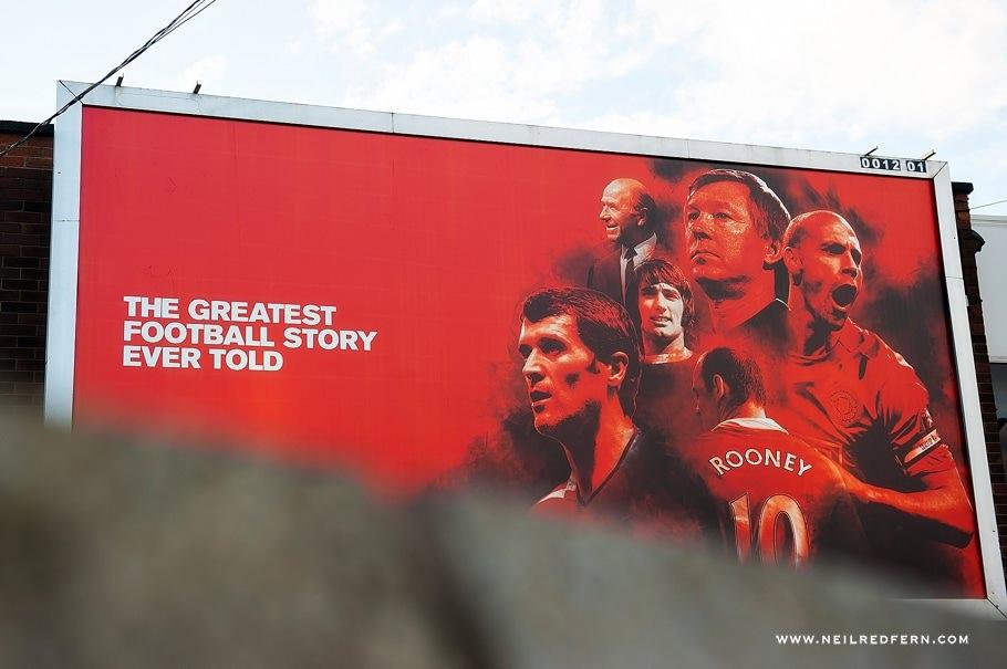 Sir Alex Ferguson Statue - Old Trafford - Manchester United 02