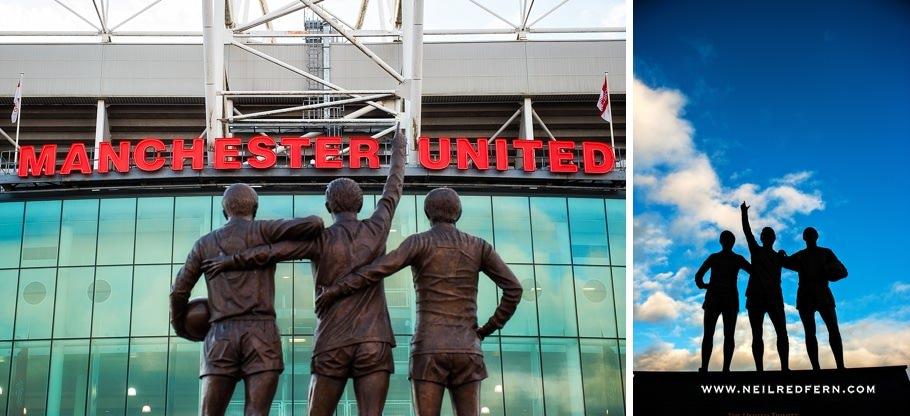 Sir Alex Ferguson Statue - Old Trafford - Manchester United 03