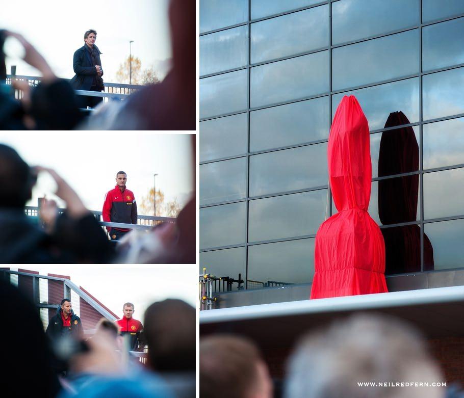Sir Alex Ferguson statue unveiling 01