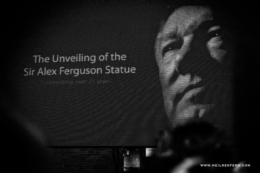 Sir Alex Ferguson Statue - Old Trafford - Manchester United 08