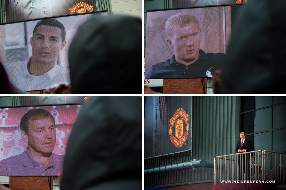 Sir Alex Ferguson Statue - Old Trafford - Manchester United 09