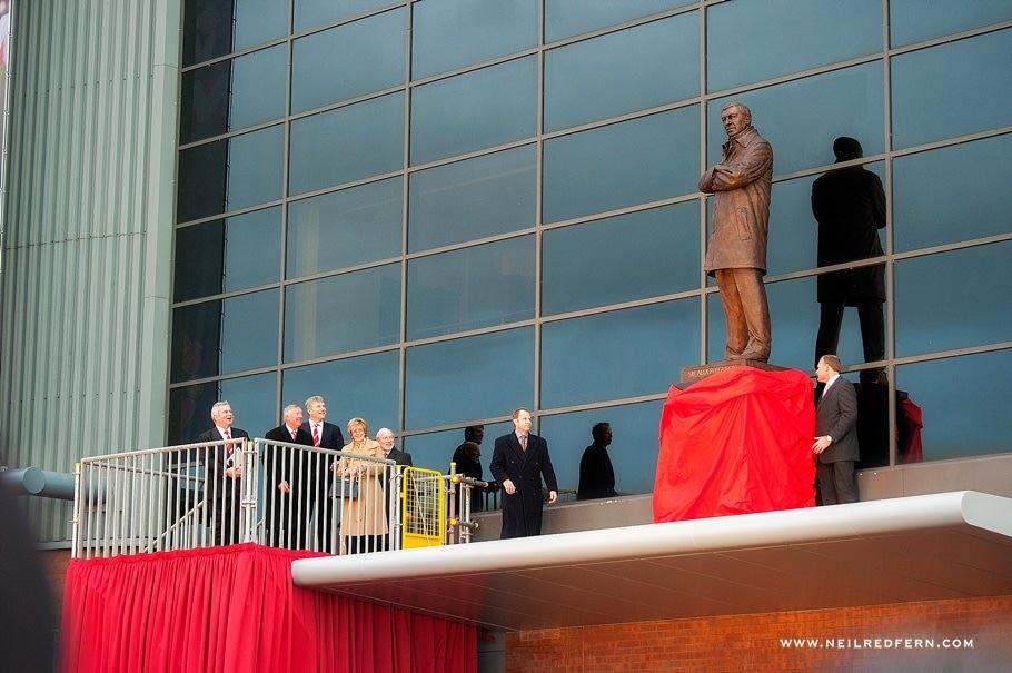 Sir Alex Ferguson Statue - Old Trafford - Manchester United 14