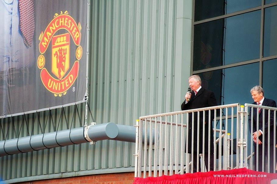 Sir Alex Ferguson Statue - Old Trafford - Manchester United 16