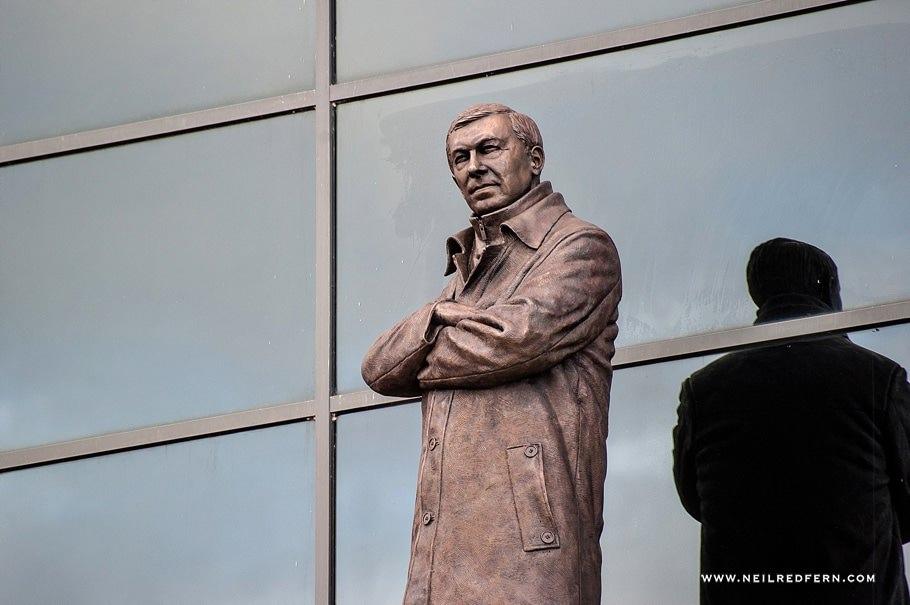 Sir Alex Ferguson Statue - Old Trafford - Manchester United 18