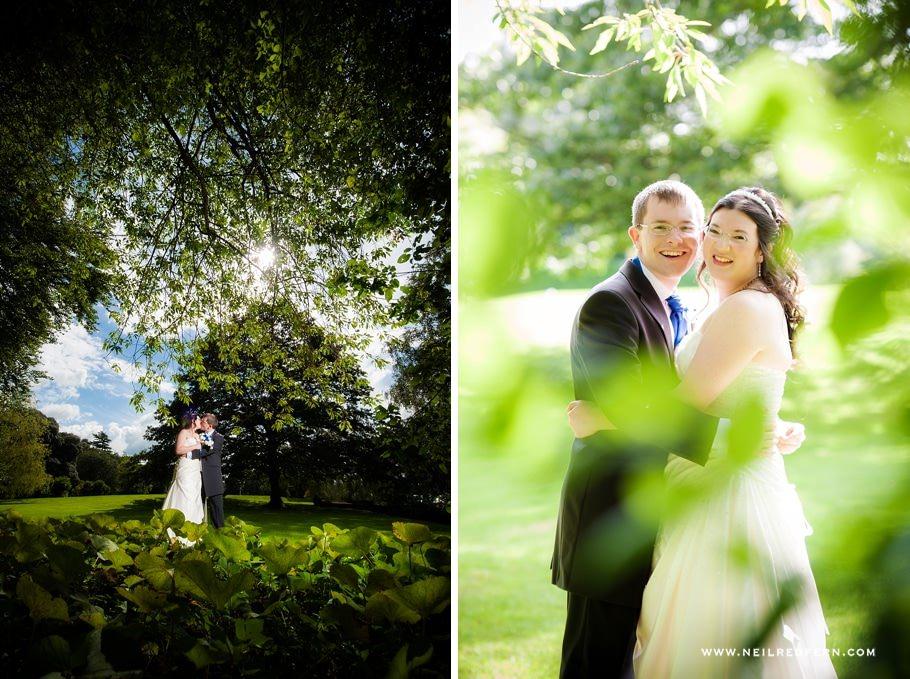Bride and groom wedding portrait 01