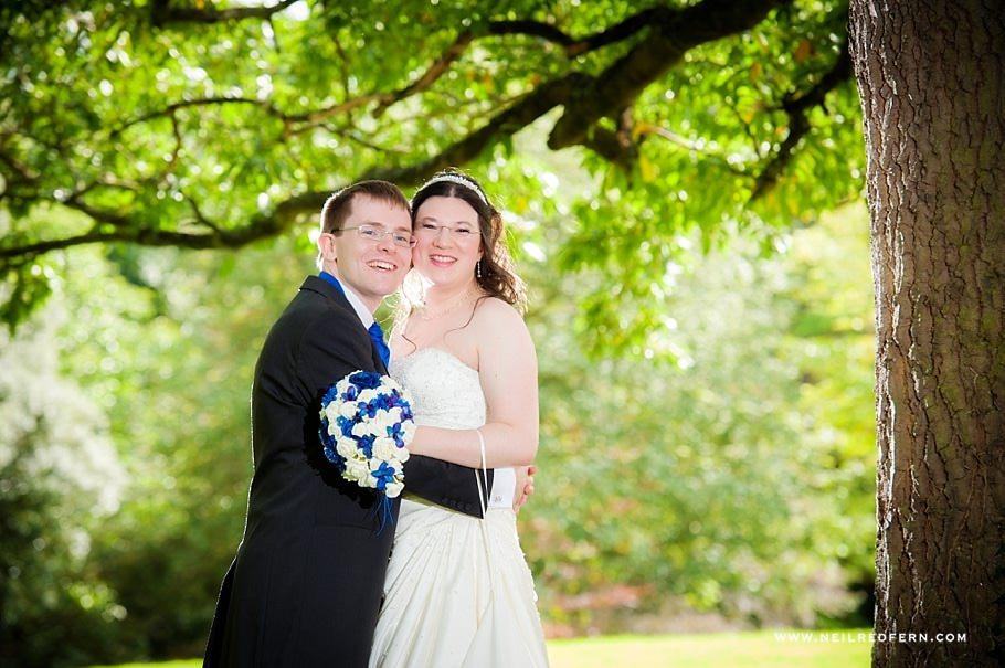 Ruthin Castle wedding photographs 07