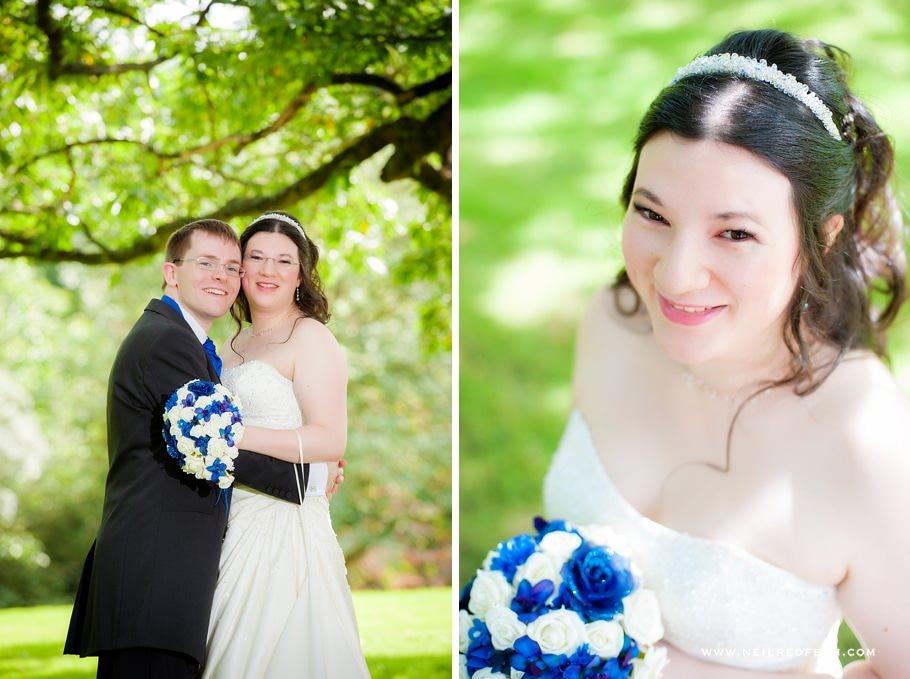 Ruthin Castle wedding photographs 08