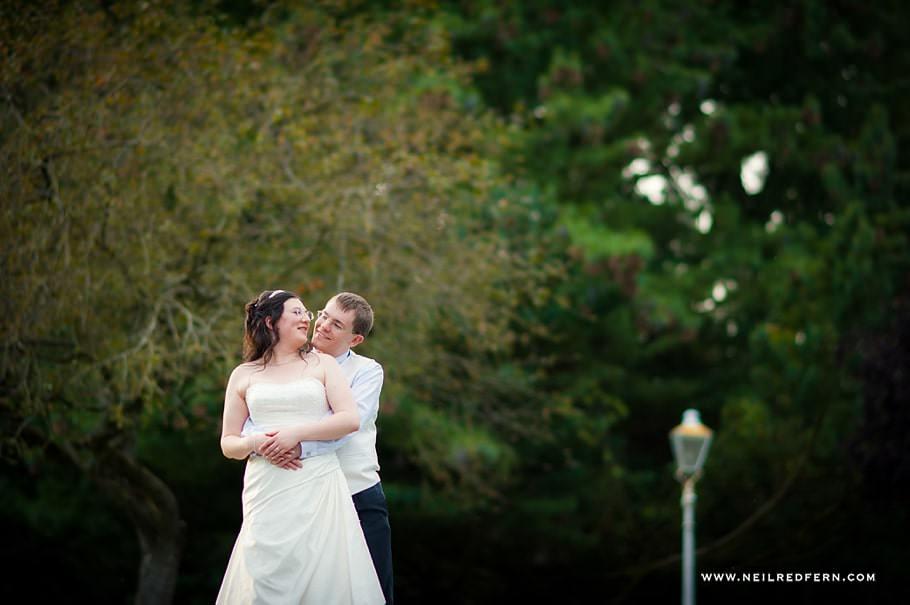 Ruthin Castle wedding photographs 10