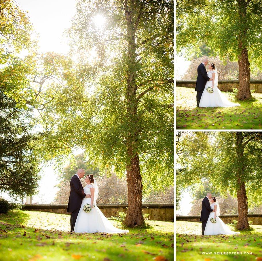 Autumn wedding photograph 01