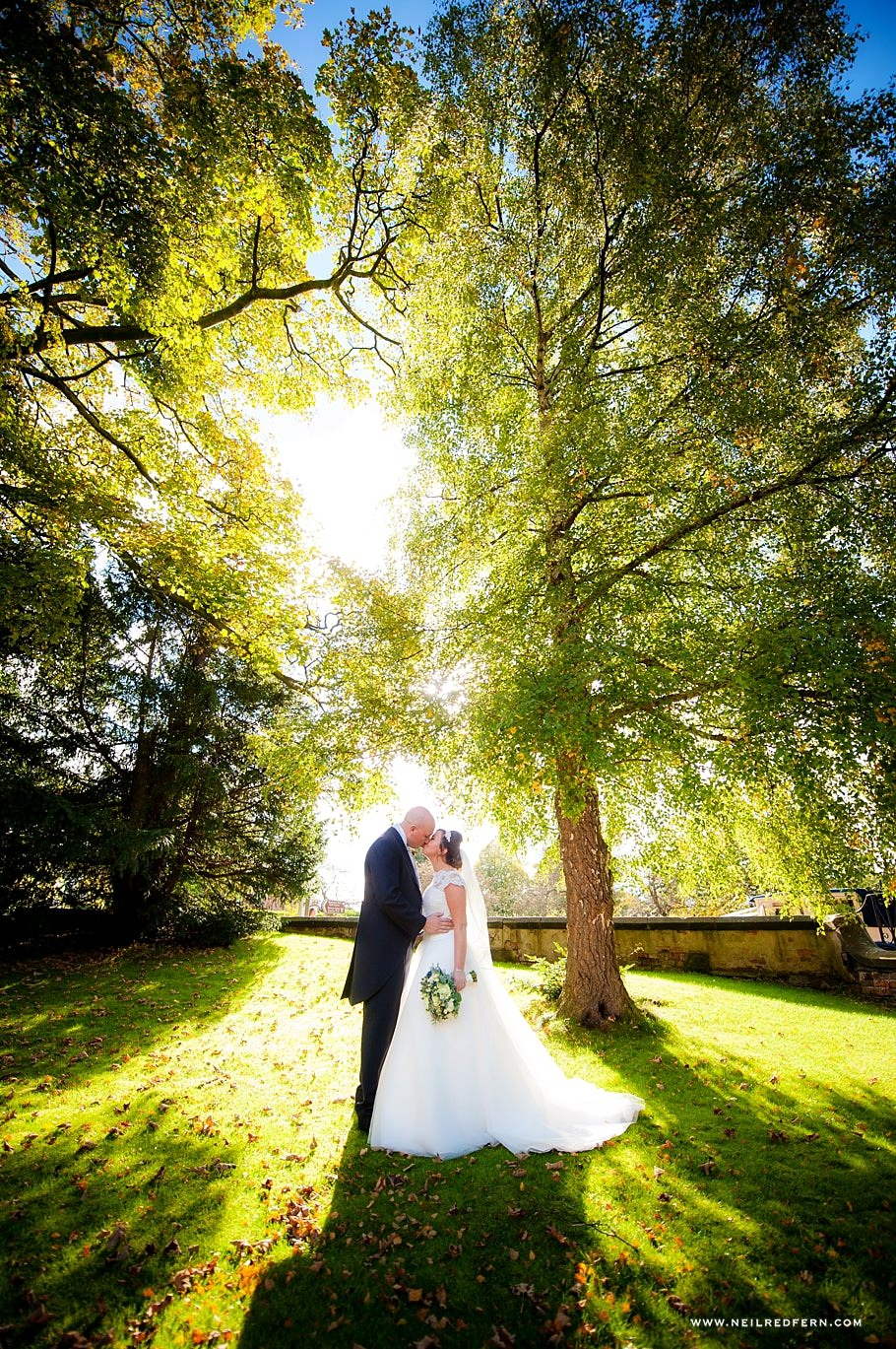 Autumn wedding photograph 02