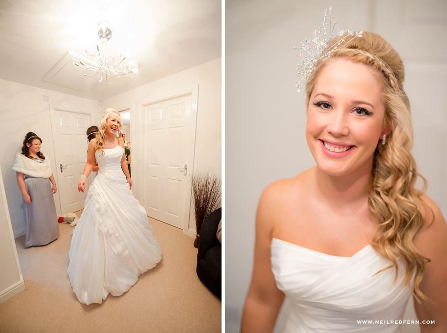 Bride getting ready before wedding 6