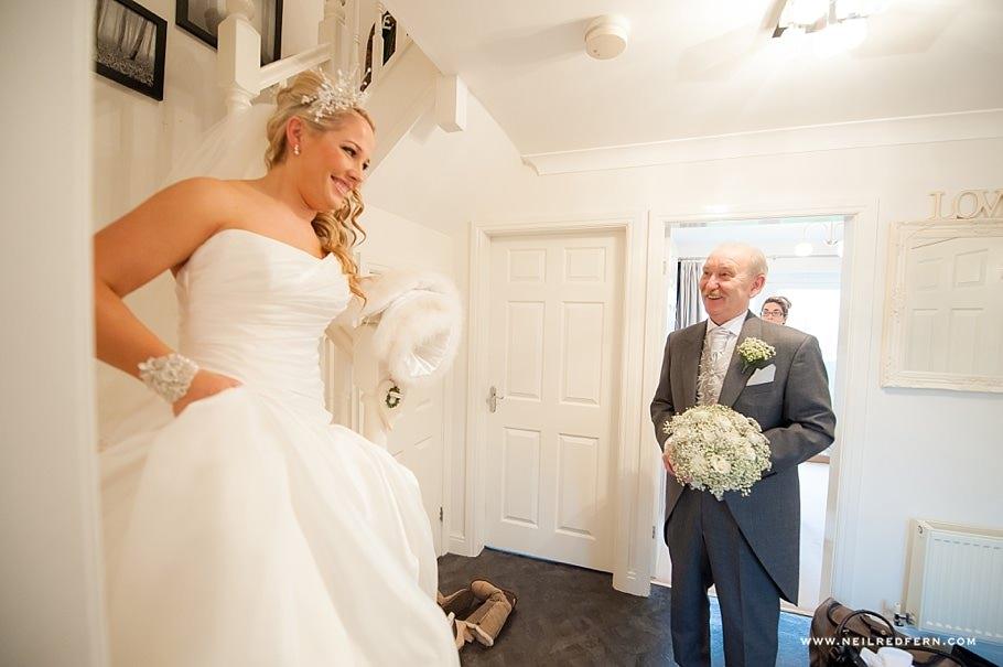Bride getting ready before wedding 7