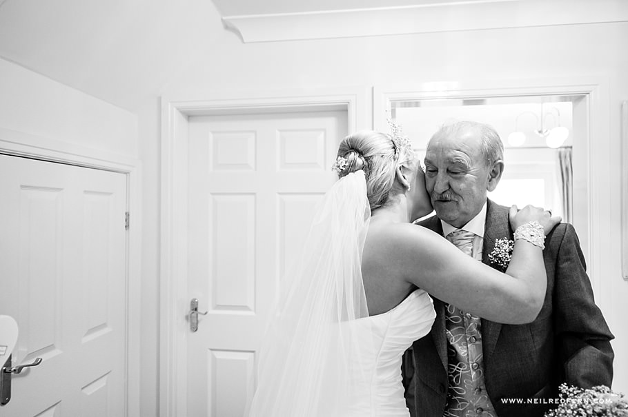 Bride and father 1
