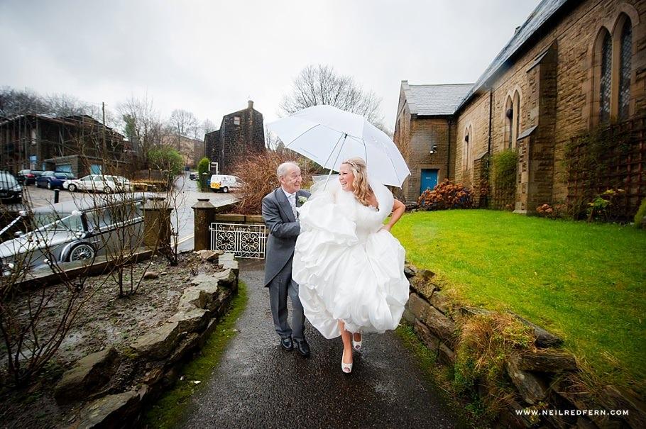 St Mary's Church Bacup wedding 2