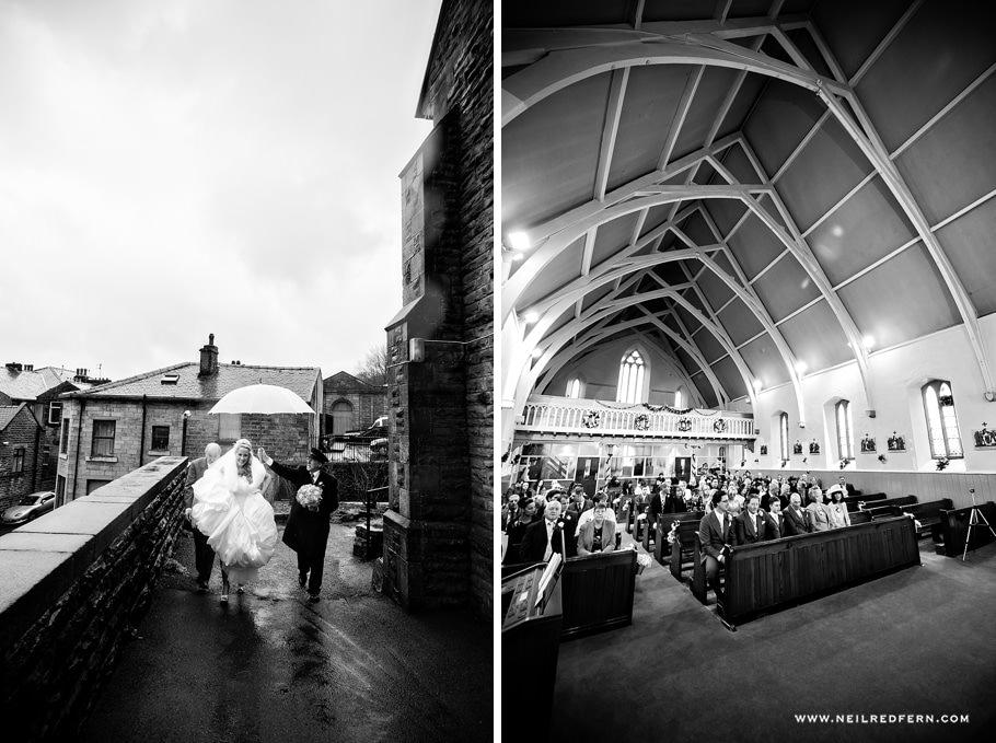 St Mary's Church Bacup wedding 3