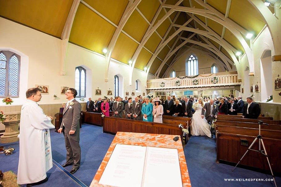 St Mary's Church Bacup wedding 4