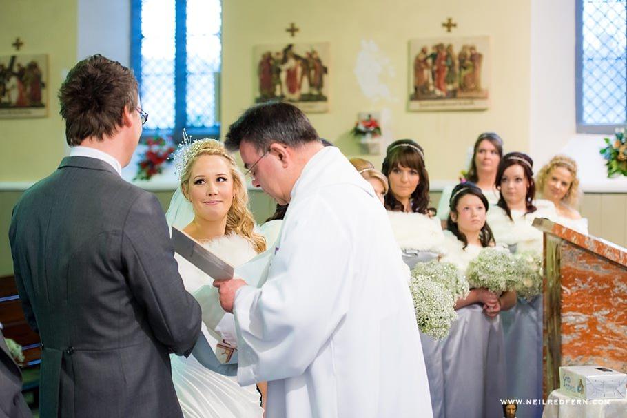 St Mary's Church Bacup wedding 8
