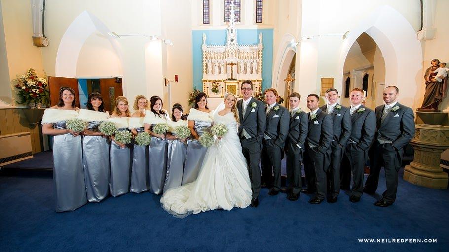 St Mary's Church Bacup wedding 12