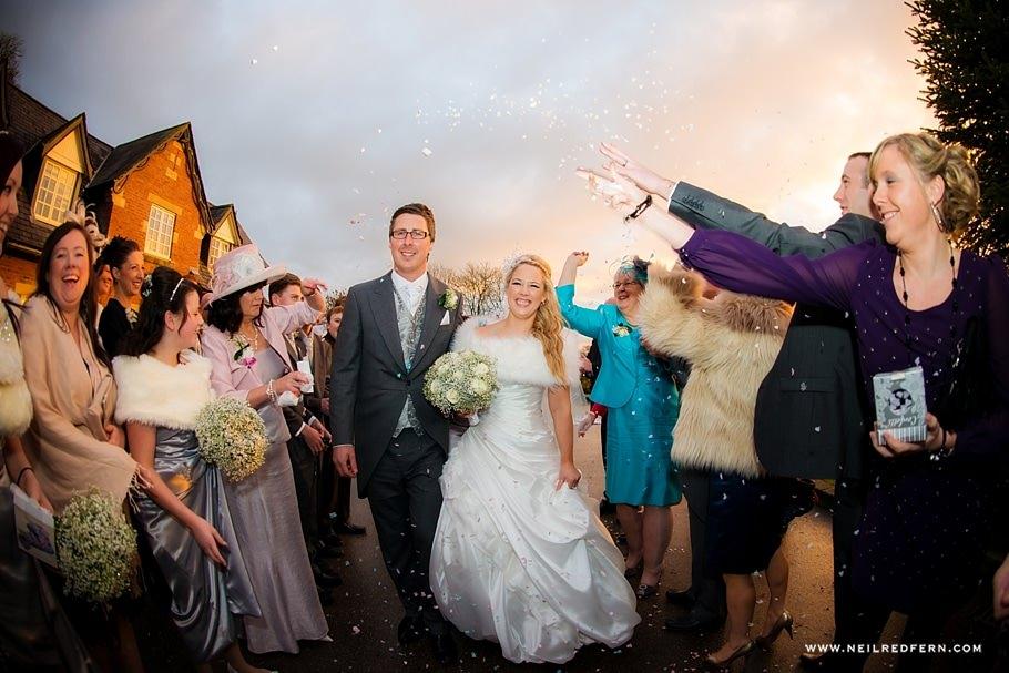 The Villa Wrea Green Wedding Photographs 9