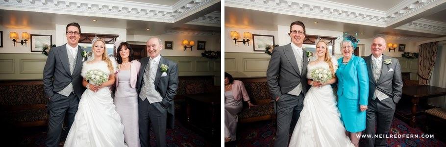 The Villa Wrea Green Wedding Photographs 45