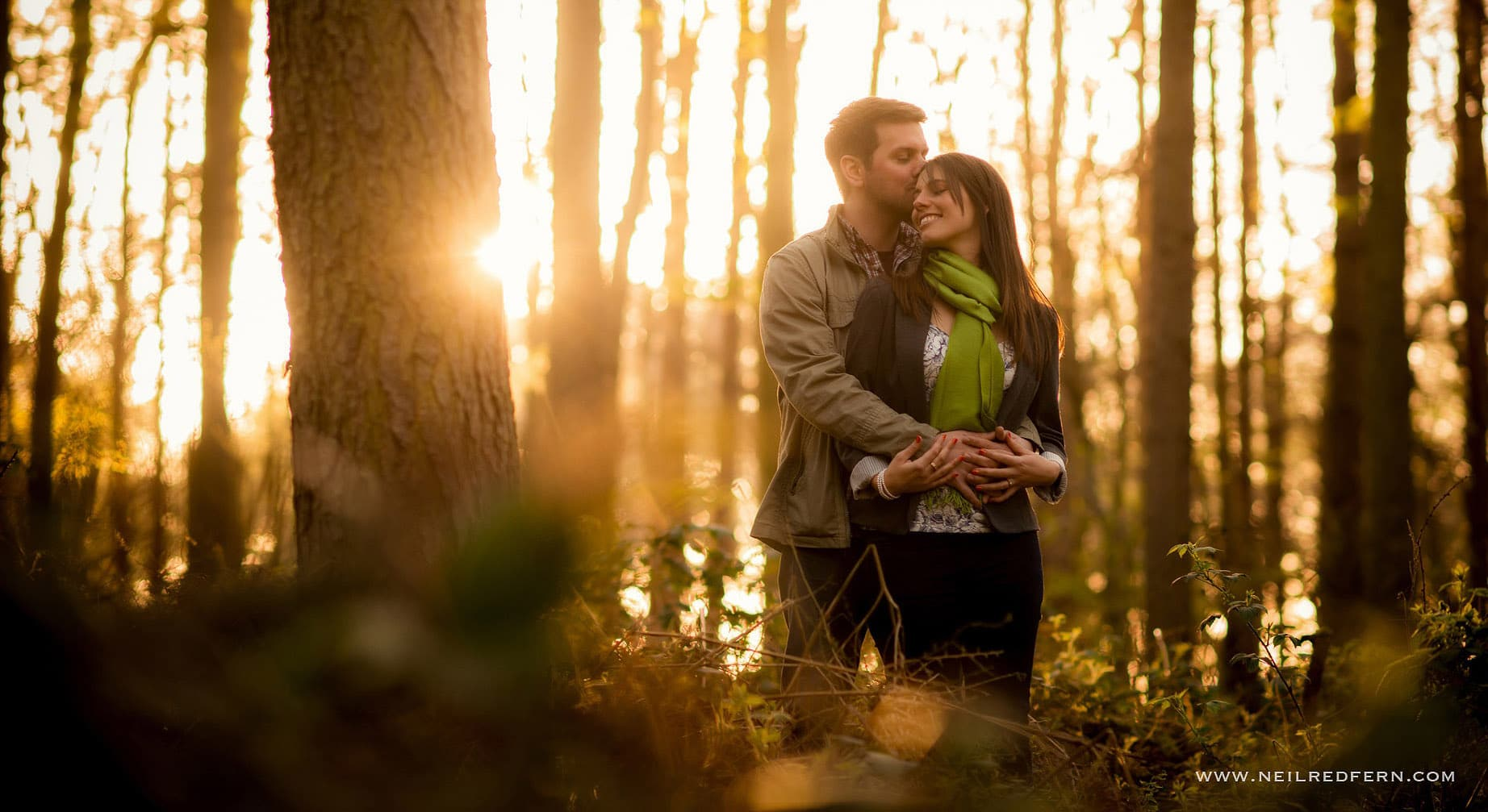 Delamere forest engagement shoot photography 1
