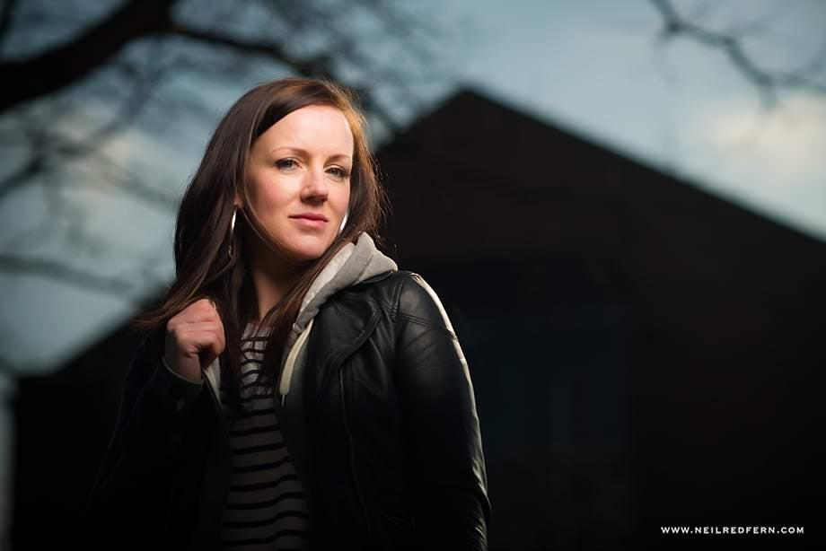Portrait shoot in Castlefield 09