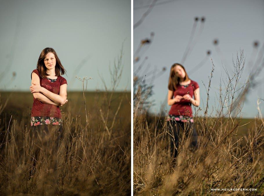 Portrait shoot with Elinchrom Quadra 04