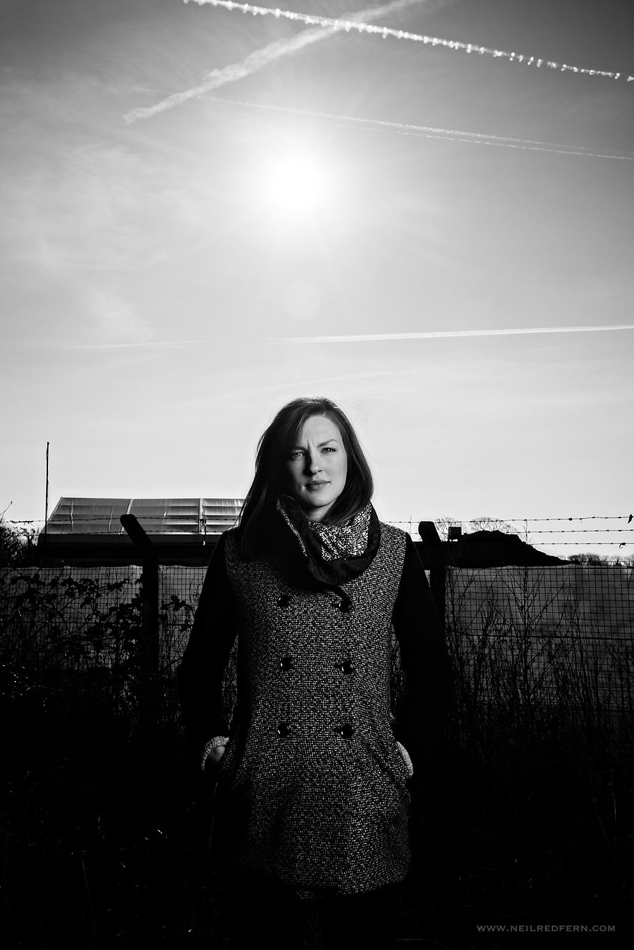 Portrait shoot with Elinchrom Quadra 07