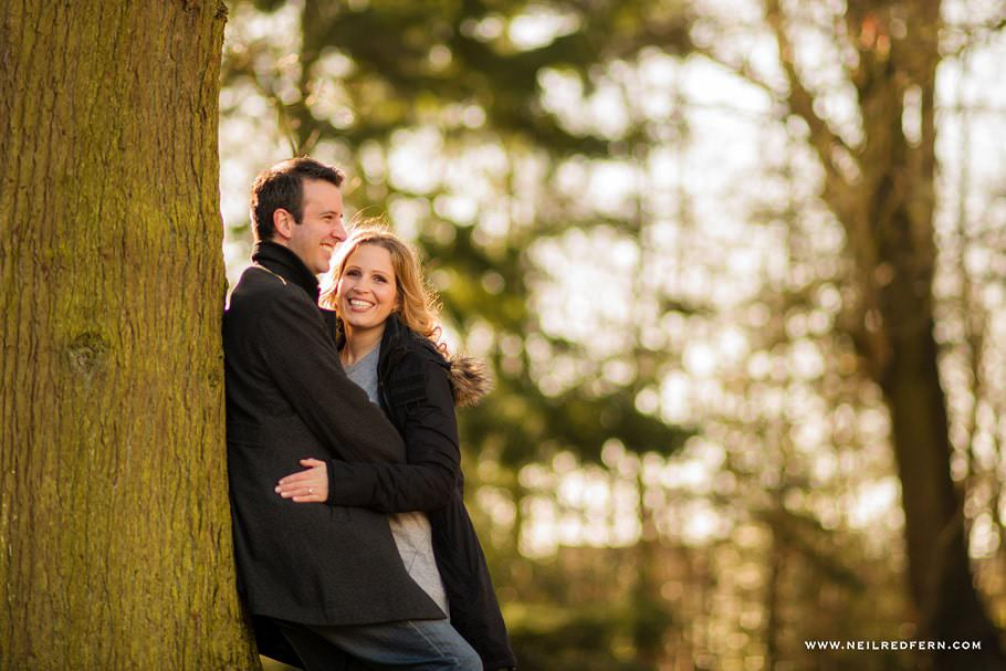 Engagement shoot in Cheshire 01