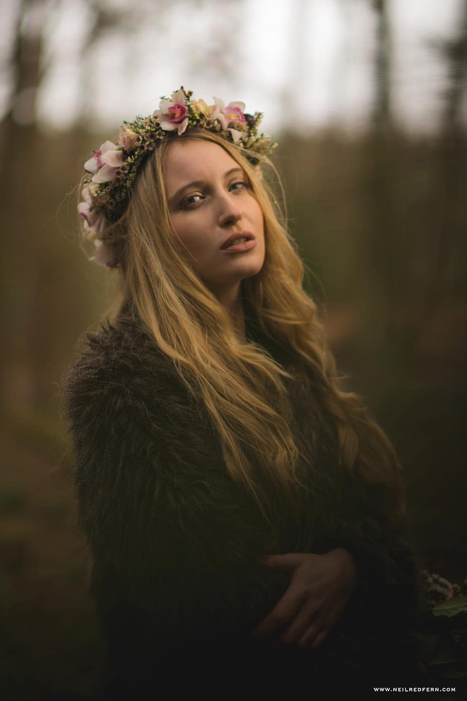 Portrait shoot in Delamere Forest 04