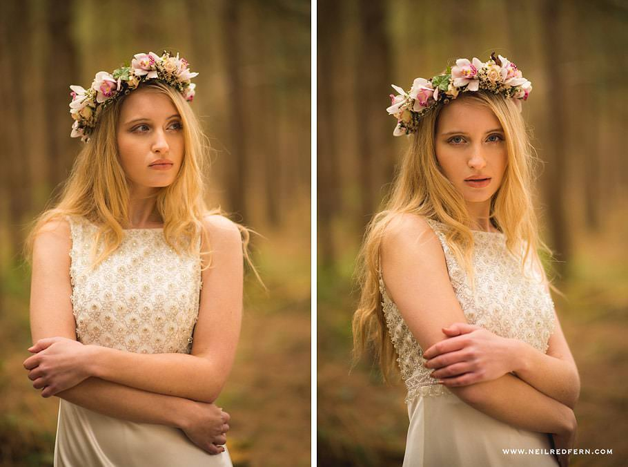 Portrait shoot in Delamere Forest 06
