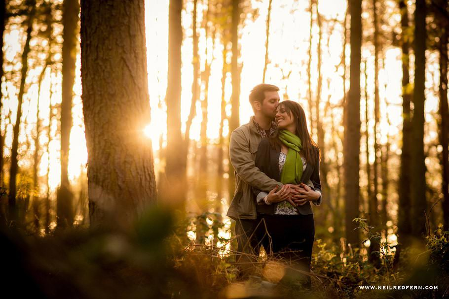 Portrait shoot in Delamere Forest – Laura & Paul
