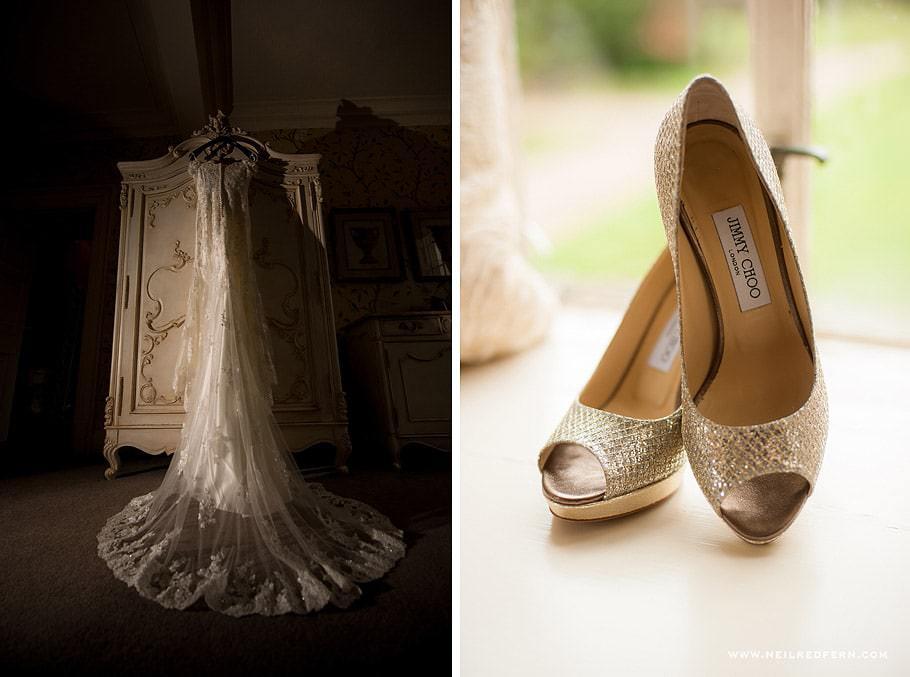 Wedding at Eaves Hall photograph 03