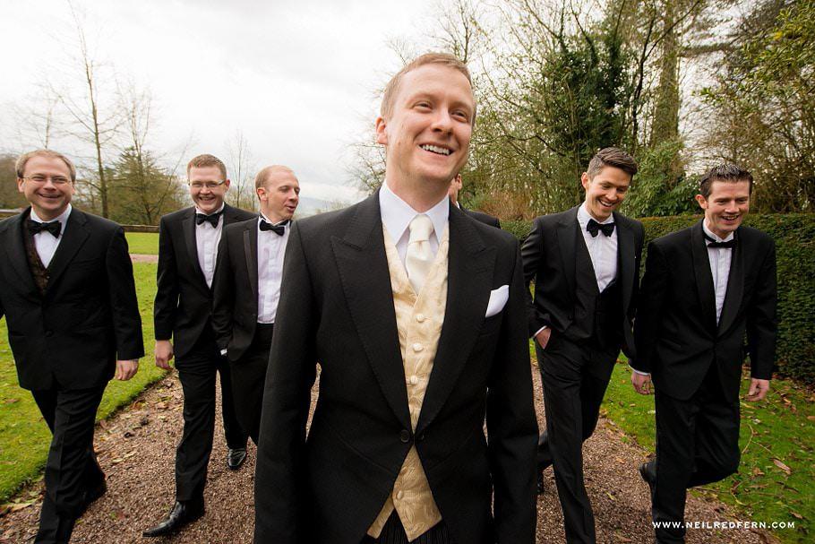 Wedding at Eaves Hall photograph 15