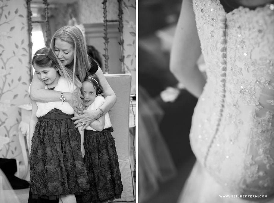 Wedding at Eaves Hall photograph 17