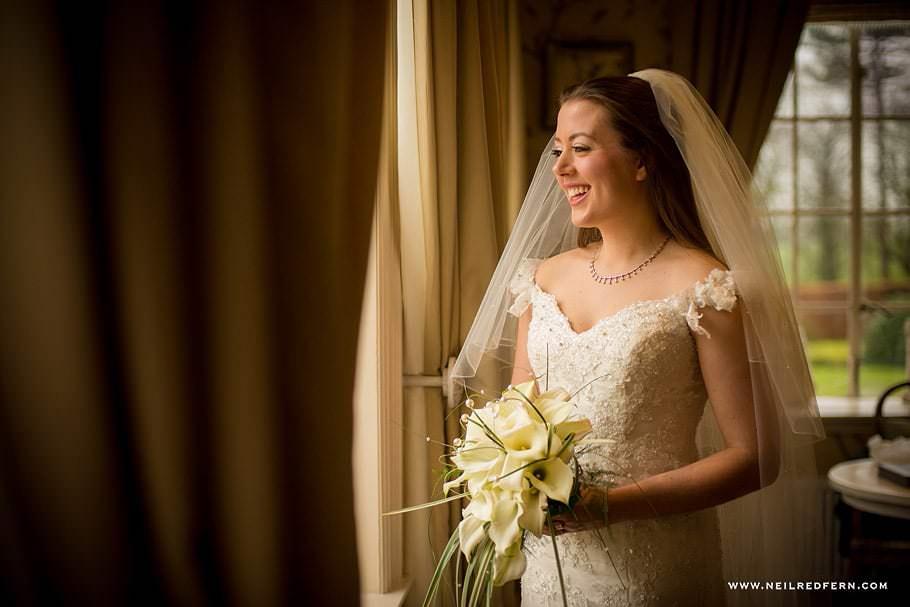Wedding at Eaves Hall photograph 18