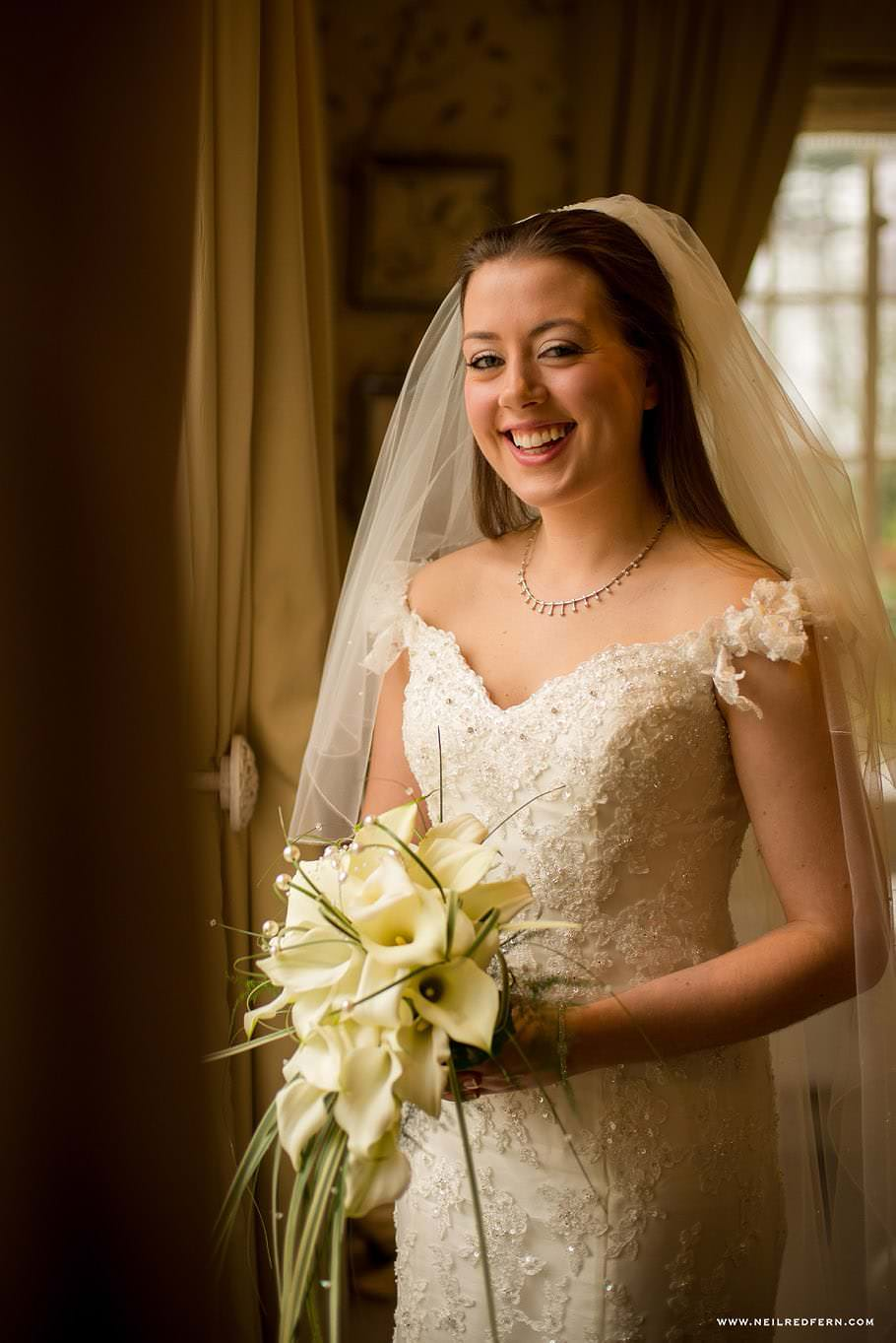 Wedding at Eaves Hall photograph 19
