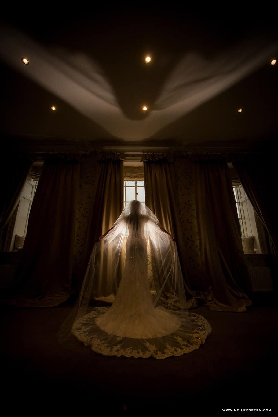 Wedding at Eaves Hall photograph 20