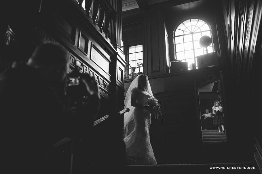 Wedding at Eaves Hall photograph 21