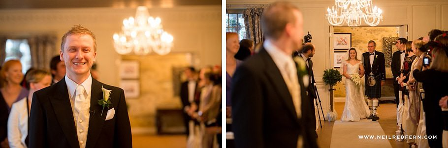 Wedding at Eaves Hall photograph 22