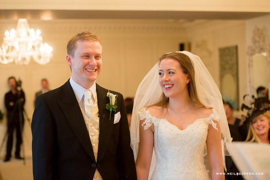 Wedding at Eaves Hall photograph 24
