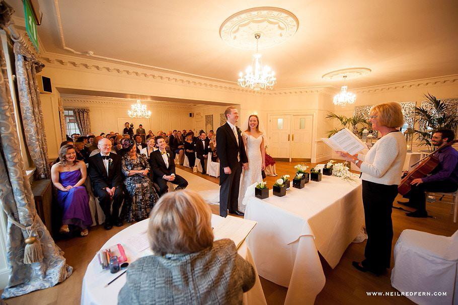 Wedding at Eaves Hall photograph 25