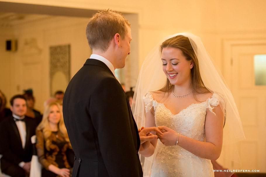 Wedding at Eaves Hall photograph 27