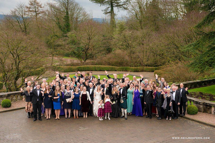 Wedding at Eaves Hall photograph 31