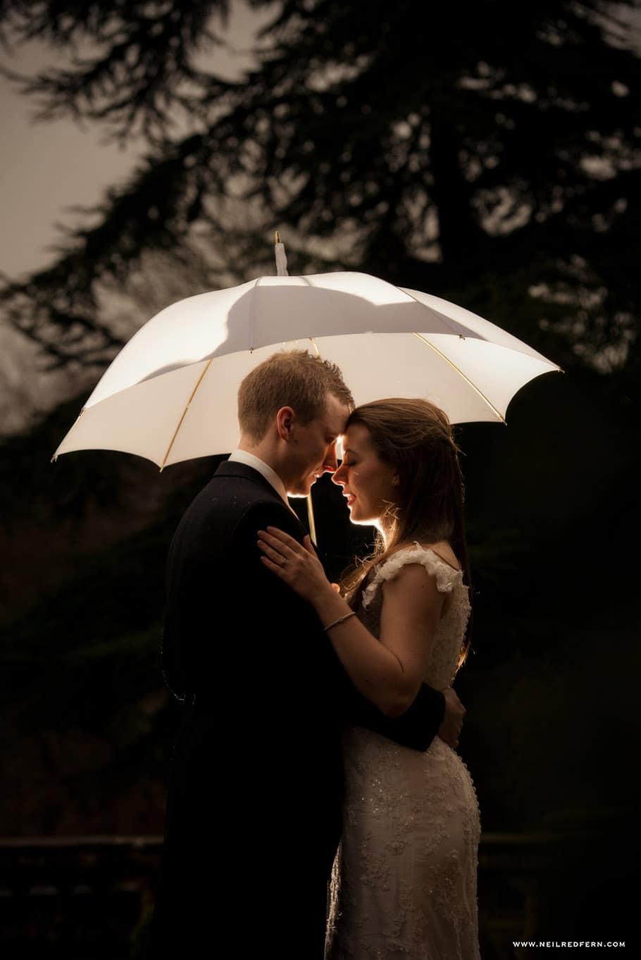 Wedding at Eaves Hall photograph 40