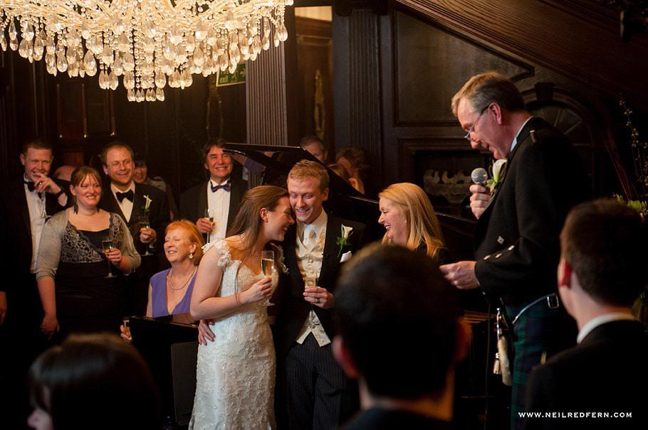 Wedding at Eaves Hall photograph 49